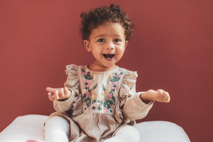 Muumi Baby Maailma-tyttö-mekko