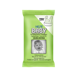 Helmi Baby ruokalappu 10kpl