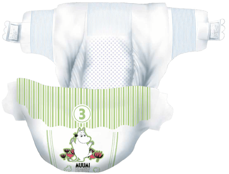 Muumi Baby Diapers