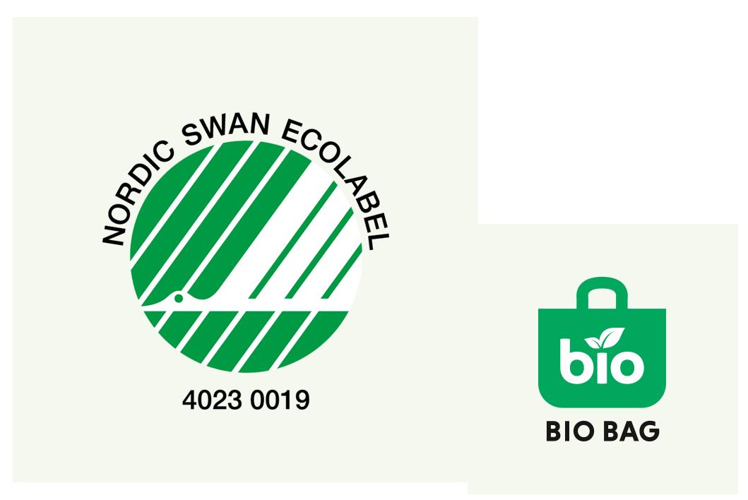 Joutsenmerkki biopakkaus