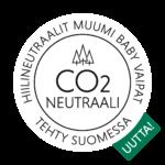 Muumi Baby hiilineutraali ikoni