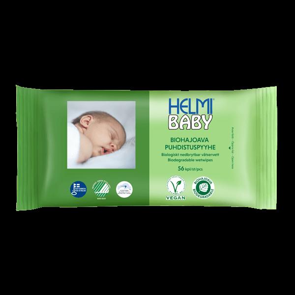 Helmi Baby biohajoava puhdistuspyyhe