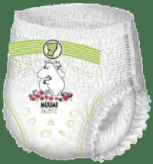Muumi Baby Walkers housuvaippa